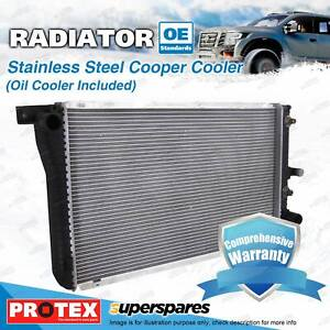Protex Radiator for Holden Commodore Crewman VZ V8 Auto Oil Cooler 292MM