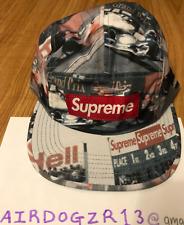 Supreme Grand Prix Camp Cap Multicolor 100% Authentic