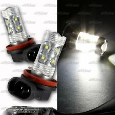 1xPair H11 50Watt 10LED White Projector Bulbs For Nissan Scion Toyota VW Pontiac
