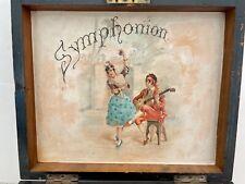 Vintage 1880s Antique Symphonion Music Box Brevette Plays!