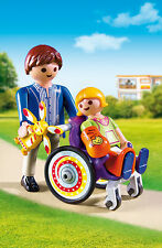 Playmobil - Kinderklinik - Kind im Rollstuhl, NEU, OVP, 6663