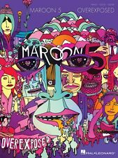 Maroon 5 Overexposed Sheet Music Piano Vocal Guitar Songbook NEW 000102813