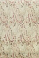 All-Over Floral Agra Paisley Oriental Area Rug Handmade Ivory Wool 8'x10' Carpet
