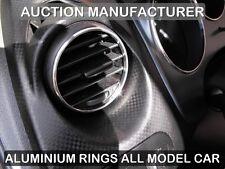 SEAT LEON mk2 2005-2012  Aluminum ventilation rings / rings 2-piece