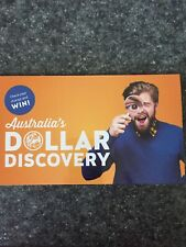 NEW Dollar Discovery Folder $1 AUD Coins A, U, S 2019 Privy Mark Yellow Folder
