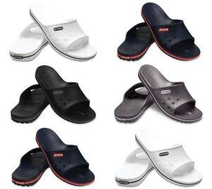 Crocs Crocband Mens Womens Slides Beach Summer Sliders Slip on Flip Sandals