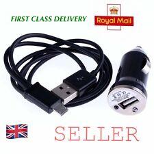 Mini Bullet Car Charger & USB Cable For Alcatel pop 4 4 Plus 2012g pixi 3 4 1035