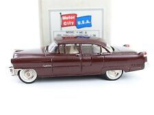 1955 Cadillac Fleetwood 4 dr Motor City 1:43 Diecast MC-2