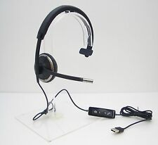 Plantronics Blackwire C510-M Monaural USB Noise-Cancelling Headset for Microsoft