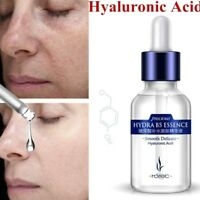 Hyaluronic Acid Essence Facial Serum Wrinkle Anti Aging Face Care Pores Shrink