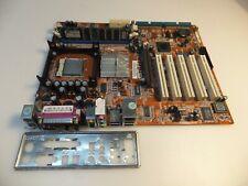 Abit Vt7 V.2.0, Socket 478, Intel Motherboard +Cpu 2.8gHz +Ram 1Gb +I/O Shield