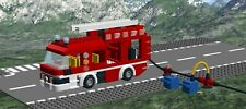 LEGO Mercedes-Benz Atego Custom Fire Truck MOC INSTRUCTIONS