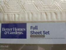Nwt Better Homes & Gardens Full Size Sheet Set Cream
