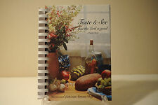 Taste and See that the Lord is Good, Immanuel Lutheran Suttons Bay, MI. Cookbook