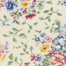 """Longaberger  7"""" Generations Basket Spring Floral Fabric OE Flower Liner"""