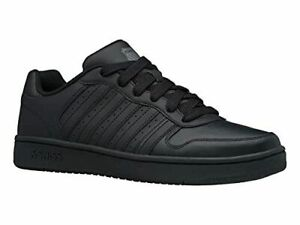 K Swiss Court Palisades Black Leather 06931-001M Mens Shoes Sneakers Size 7.5-12