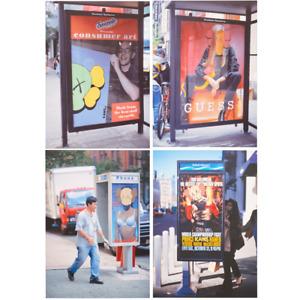 Kaws x NGV Australia Bus Ads Postcard Set Exclusive AU Chum 5x8