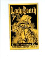 Lady Death Death Becomes Her Ashcan #300 of 800 - Near Mint