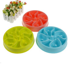 Slow Feed Dog Bowl Anti Choking Pet Food Bowl To Prevent Obesity Dog FeederSC