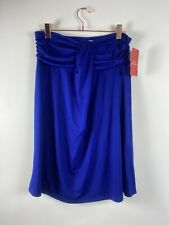 As Rose Rich Blue Cotton Dress/Cover Up New Size XL