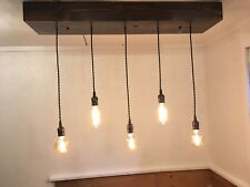 Rustic lighting 5 Light Chandelier