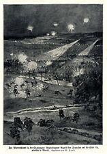 Winterschlacht Höhe 196 nördlich le Mesnil  Kriegsmaler * War Artist * 1.WK