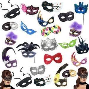 Masquerade Masks Bulk Pack of 25  Parade Party Ball Prom Carnival Venetian Props