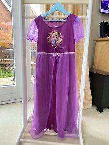 Disney Parks Childs Rapunzel Dress Age 8 Years