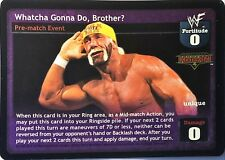 Wwe Raw Deal Ccg Sommer Slam 6.0 Whatcha Gonna Tun Bruder? Folien Hogan