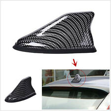 Universal Carbon Fiber Auto Car Roof Shark Fin AM/FM Radio Signal Aerial Antenna