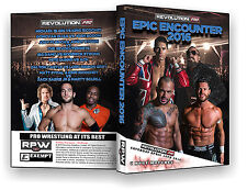 Official RPW : Epic Encounter 2016 Event DVD ( Ricochet, Sydal, ACH, Strong )