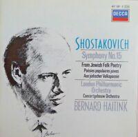 Shostakovich Philharmonic Orchestra Bernard Haitink – Symphony [ CD ALBUM ]