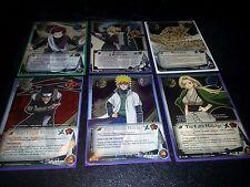 Lot of 25 Naruto Cards CCG All Super rares No Duplicates - Fast Ship!