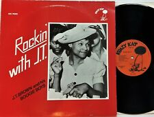 J.T. Brown & His Boogie Boys - Rockin' With J.T. LP 1984 UK Press Krazy Kat EX