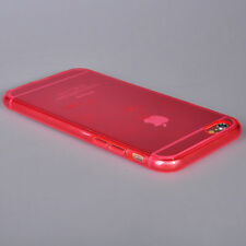 "iPhone 6 6S Case (4.7"") - Ultra Thin Cover -  ""Candy Red"" Soft TPU Gel Case"