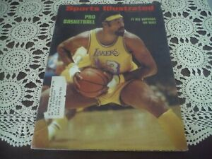 Sports Illustrated Lakers Wilt Chamberlain  Cover OCT 16,1972