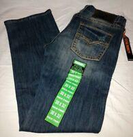 Men's ROCK & N ROLL COWBOY NWT Pistol Regular Straight Leg Jeans M1P7397 Size