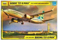Zvezda 1/144 scale BOEING 737 MAX 8 airliner plane model