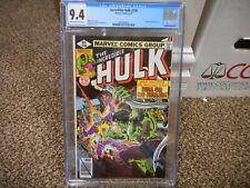 Incredible Hulk 236 cgc 9.6 Marvel 1979 vs Machine Man cover appearance NM MINT