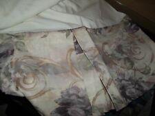 Croscill Chambord Cassis Roses Rose Flowers King Bed Skirt