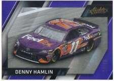 2017 Panini Absolute Racing Spectrum Gold /25 #91 Denny Hamlin