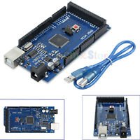For Arduino Mega 2560 R3 ATmega 328P Compatible Board CH340G USB Cable
