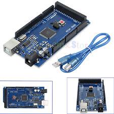 Arduino Mega Case 2560 R3 ATmega 328P 16U2-MU Compatible Board CH340G+USB Cable