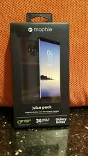 New Mophie Juice Pack 2950mAh Battery Case for Samsung Galaxy Note8 - Black