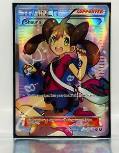 NM Trainer Shauna 111a/124 Alternate Full Art Ultra Rare Fates Collide Pokemon