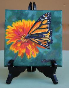 Monarch Color Match on quality linen canvas