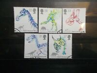 GB 1991 Commemorative Stamps~Dinosaurs~Very Fine Used Set~UK Seller