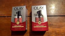2x  Olay Regenerist Cream Advanced Anti Aging Moisturizer With SPF 30 Exp. 2021