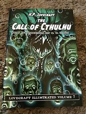 THE CALL OF CTHULHU H.P.Lovecraft, Joshi intro, Von Scholly art 1st PS HC ed