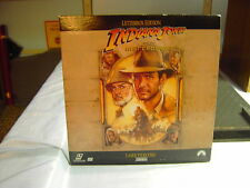 INDIANA JONES and the LAST CRUSADE LETTER BOXED EDITION LASERDISC